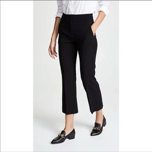 Veronica Beard Cormac Wide Leg Wool Trouser Size 6